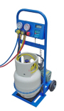 JAVAC RCS charge station with Lower Capacity Vacuum Pump